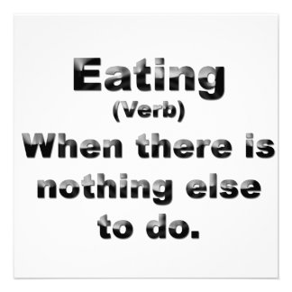 Definition of Eating Announcement