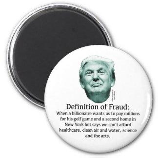Definition of Fraud - TRUMP Magnet