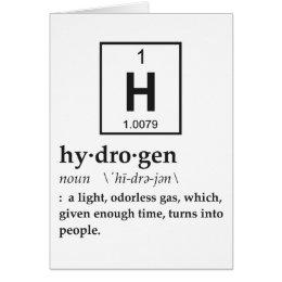 Definition of Hydrogen Card