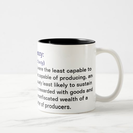 Definition Of Ineptocracy Coffee Mugs
