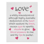 Definition of Love print