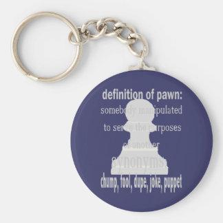 Definition of Pawn Keychain