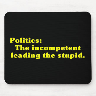 Definition of Politics Mouse Pad