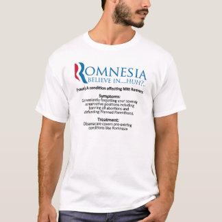 Definition of Romnesia - Mitt Romney T-Shirt