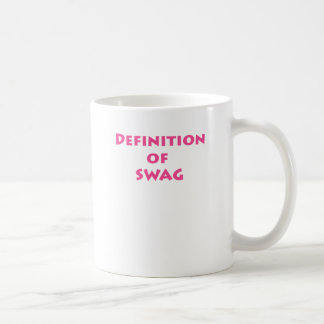 Definition of swag mugs