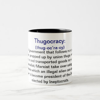 Definition Of Thugocracy Coffee Mugs