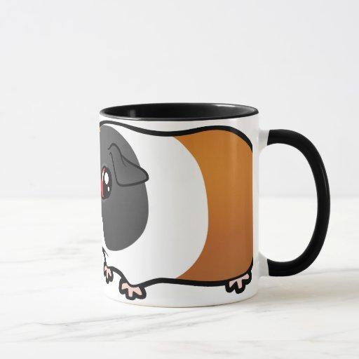 Definitivamente una persona del conejillo de taza