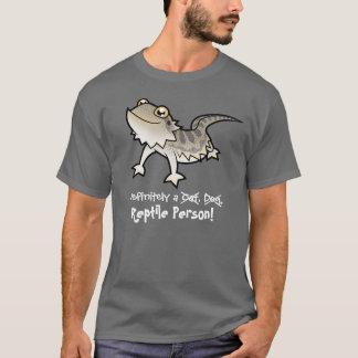 Definitivamente una persona del reptil (dragón playera
