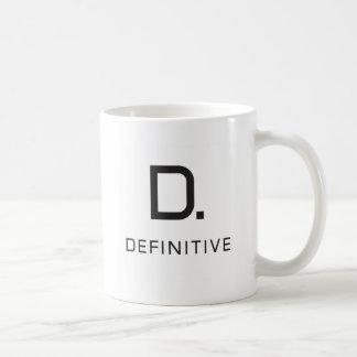 Definitive technology coffee mug