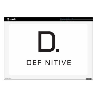 Definitive technology laptop decals