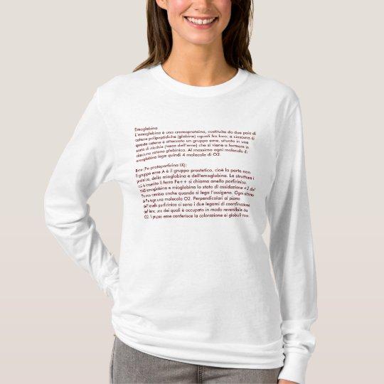 Definizione di emoglobina T-Shirt