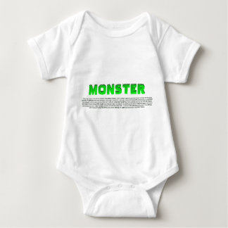 DEFINTION OF MONSTER BABY BODYSUIT
