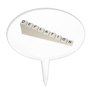 Deflation Cake Topper
