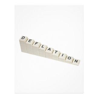 Deflation Letterhead