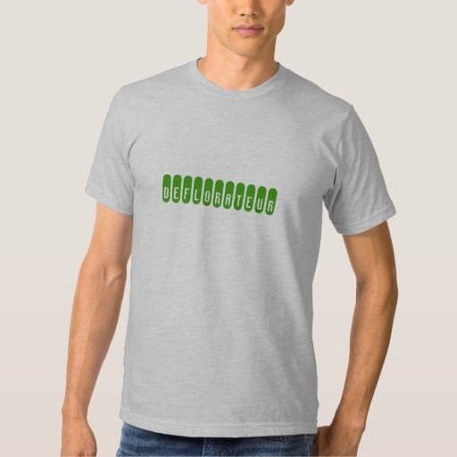 """""""Deflorateur"""" American Apparel T-Shirt (Fitted)"""