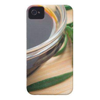 Defocused and blurred image of soy sauce iPhone 4 cover