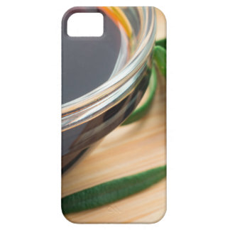 Defocused and blurred image of soy sauce iPhone SE/5/5s case