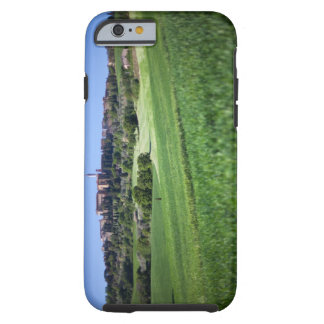 defocused grainfield with on pienza, tuscany, tough iPhone 6 case