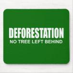 Deforestation Mouse Pad
