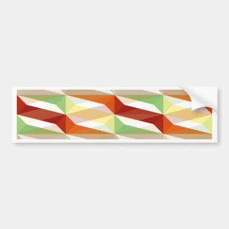 Deformation - Muster Pattern Bumper Sticker