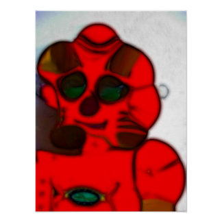Deformed Robot Poster