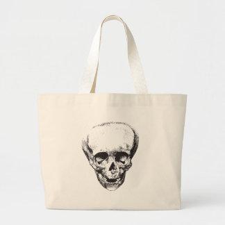 Deformed Skull Large Tote Bag