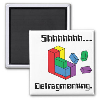 Defragmenting 2 Inch Square Magnet