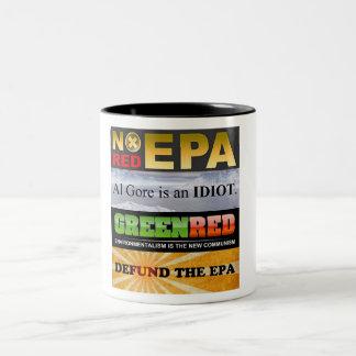 Defund el EPA Taza De Dos Tonos