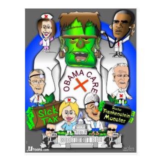 Defund Obama Care Postcard