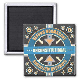Defund Obamacare 2 Inch Square Magnet