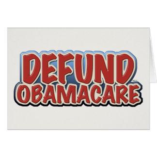 Defund Obamacare Card