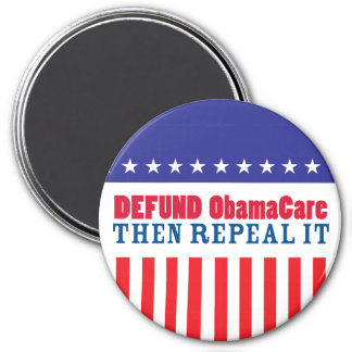 Defund ObamaCare entonces lo abroga Imán Redondo 7 Cm