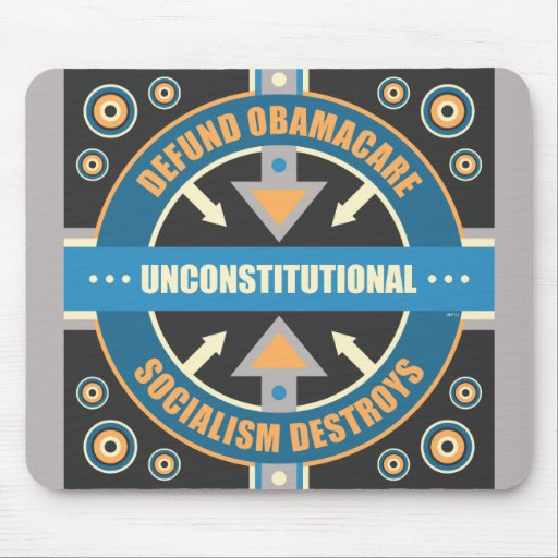 Defund Obamacare Mouse Pads