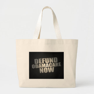 Defund Obamacare Now Tote Bags