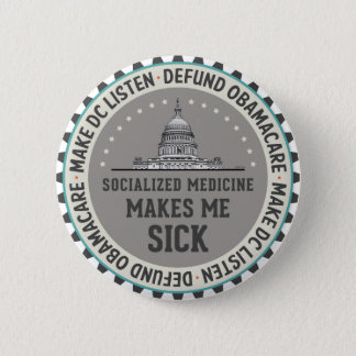 Defund Obamacare Pinback Button