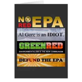 Defund The EPA Card