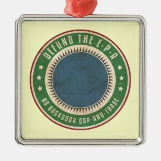 Defund The EPA Metal Ornament