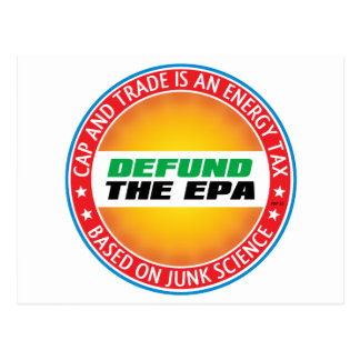 Defund The EPA Postcard