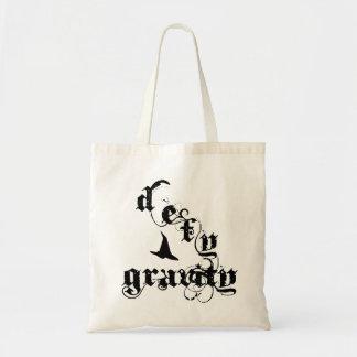 Defy Gravity Canvas Bag