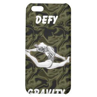 Defy Gravity Black Silk iPhone 4 Case