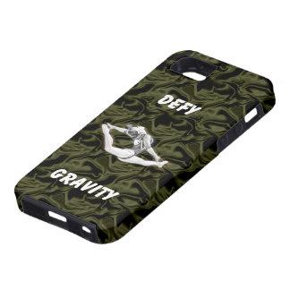 Defy Gravity Black Silk Vibe iPhone 5 Case