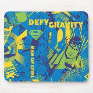 Defy Gravity - Blue Mouse Pad