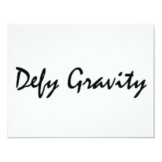 Defy Gravity Card