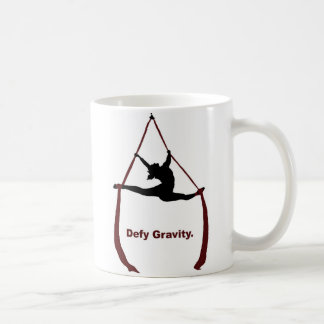 Defy Gravity Classic White Coffee Mug