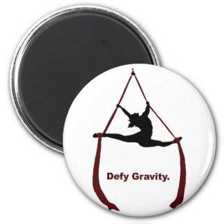Defy Gravity Fridge Magnets