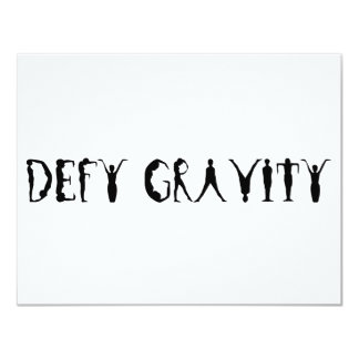 Defy Gravity Personalized Announcement