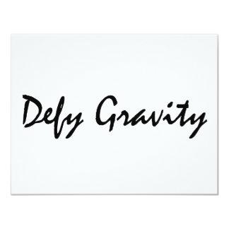 Defy Gravity Custom Announcement