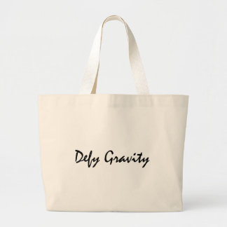 Defy Gravity Large Tote Bag