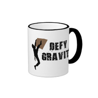 Defy Gravity Ringer Coffee Mug