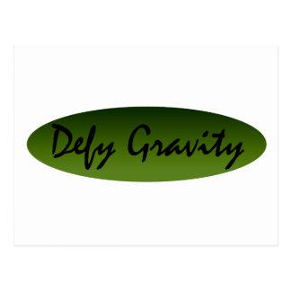 Defy Gravity Postcards